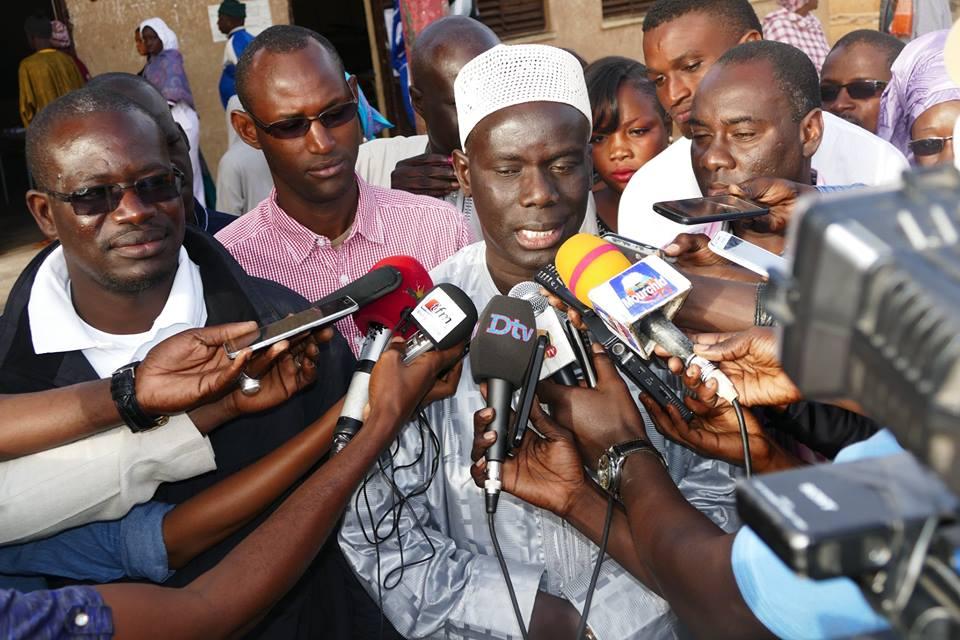 Guédiawaye : Gackou reconnaît sa défaite et félicite le courant du Oui*