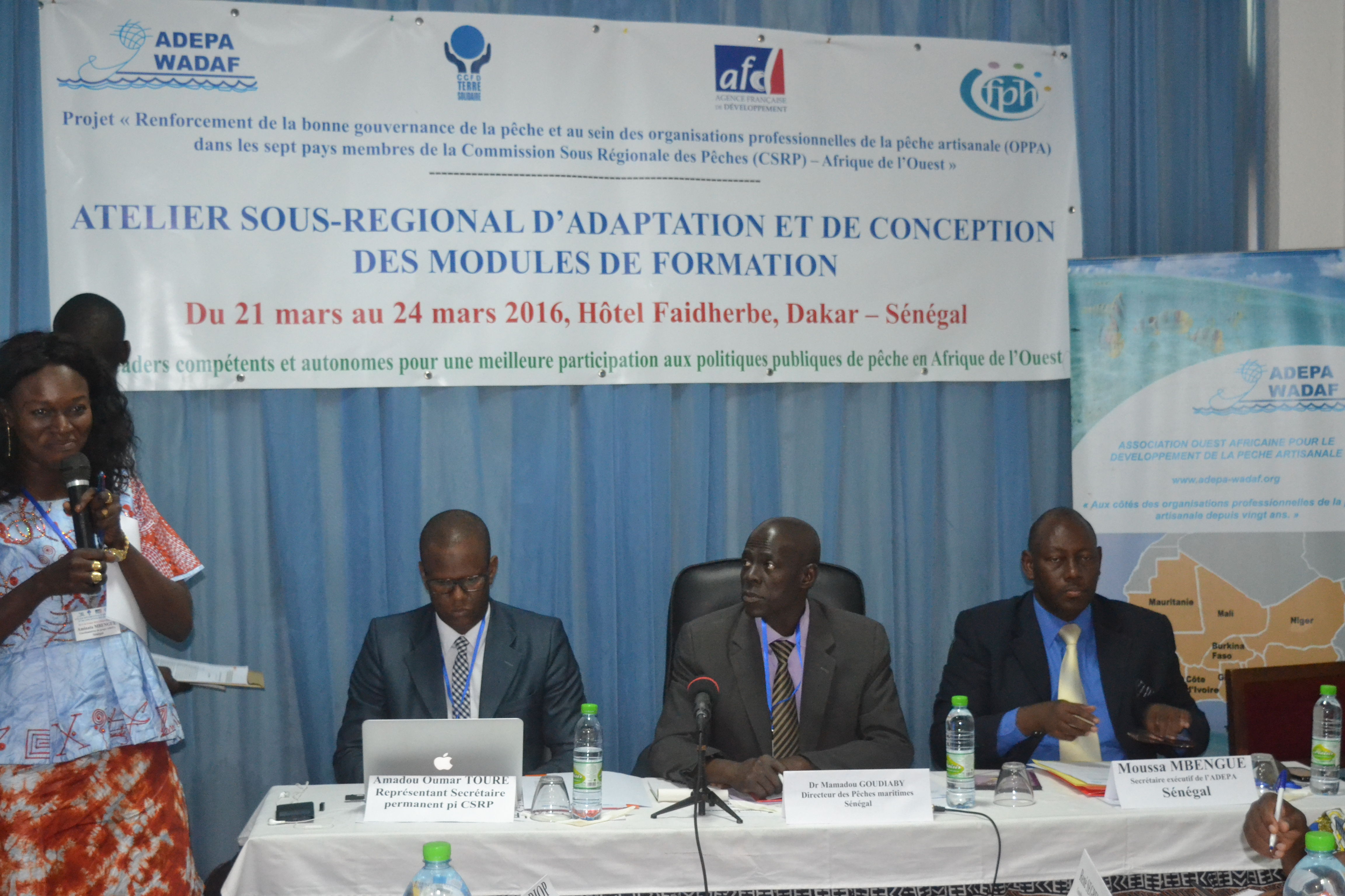 L'ADEPA opte pour la bonne gouvernance de la pêche au sein des organisations professionnelles