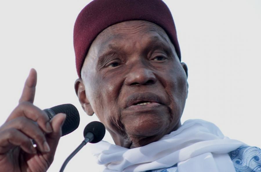 Abdoulaye Wade: « Pour la première fois au Sénégal, j'ai pas mis de l'argent dans une élection parce que je ne l'ai pas, j'ai été volé »