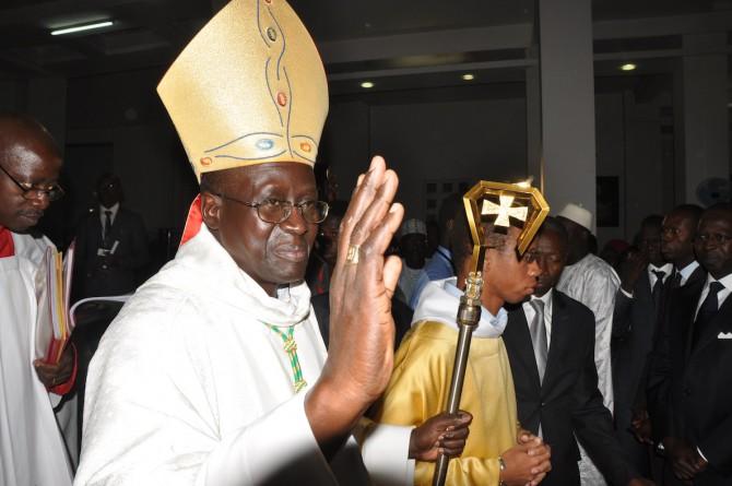 Lundi de pâques: Monseigneur Benjamin Ndiaye célèbre la messe à la prison de Rebeuss