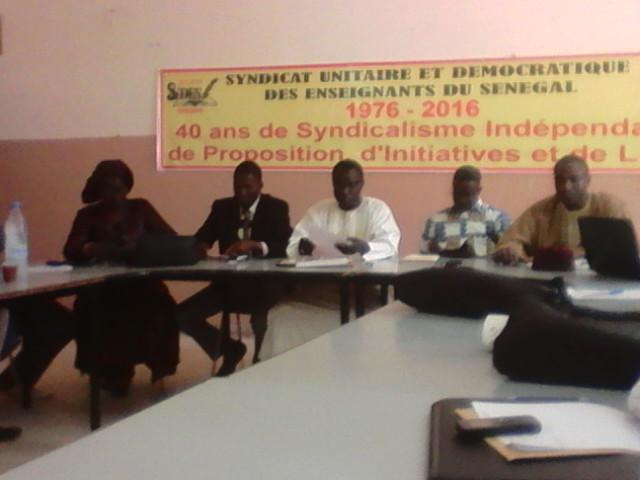 Formation de la jeunesse à la syndicalisation : Les responsables des mouvements de jeunes à l'école de la Csa