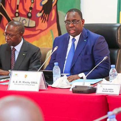 Dialogue social-pacte de stabilité sociale : Macky Sall engage le gouvernement à passer à l'évaluation