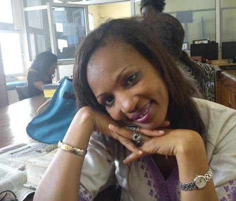 La journaliste Safoura Sow