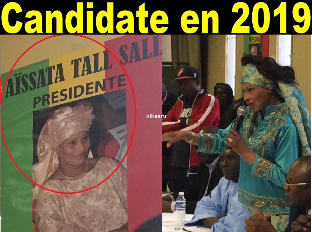 Depuis la France, Aïssata Tall Sall annonce sa candidature à la présidentielle de 2019