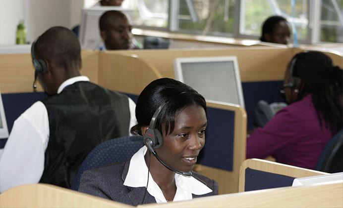 Centres d'appels: 77% des téléphonistes souffrent de stress