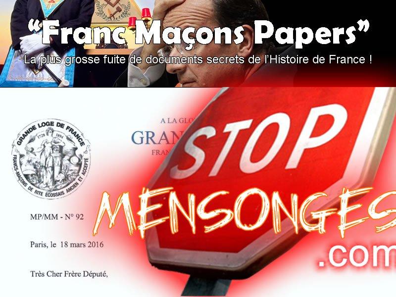 « Franc-maçonnerie Papers » – La plus grande fuite de l'Histoire +6000 documents secrets divulgués