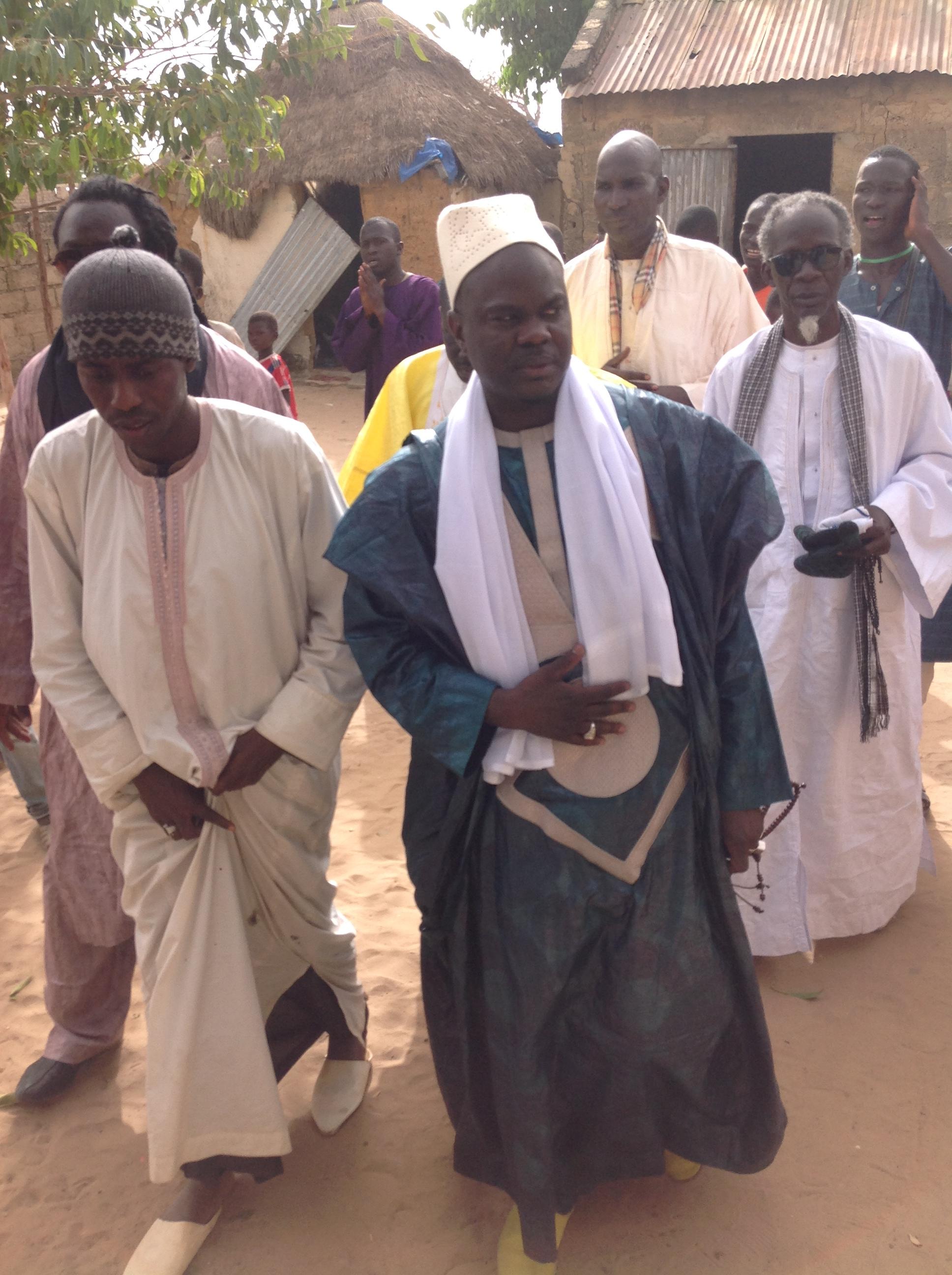 Magal annuel de Ndiongolor : Cheikh Malick Sène promet une Grande mosquée