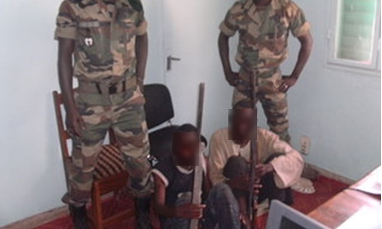 En mission de surveillance à Médina Yoro Foula, quatre agents du ministère de l'Environnement arrêtés et conduits en Gambie