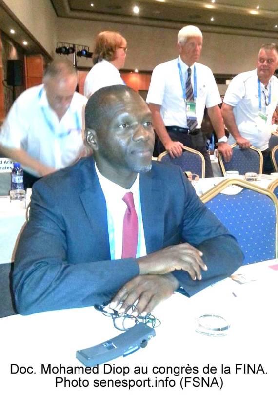 Piscine olympique de Dakar : Président Mohamed Diop annonce l'érection d'un centre de haut niveau en septembre