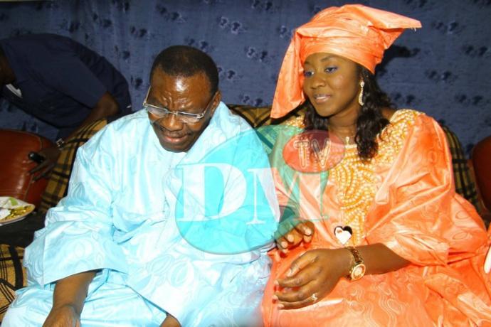 Adja Déthié Pène en compagnie de  son époux Cheikh Béthio Thioune