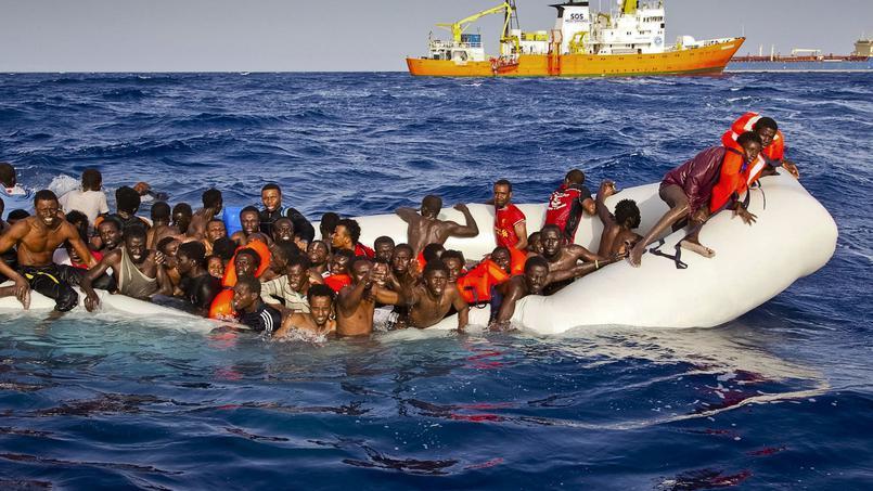 L'ONU redoute la mort de 500 migrants dans un naufrage en Méditerranée