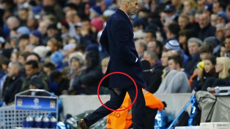 Zidane craque à nouveau son pantalon