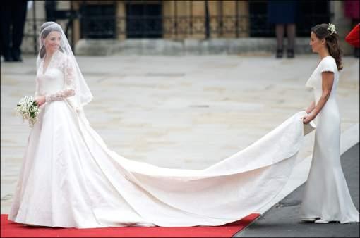 La robe de mariée de Kate Middleton au coeur d'une polémique