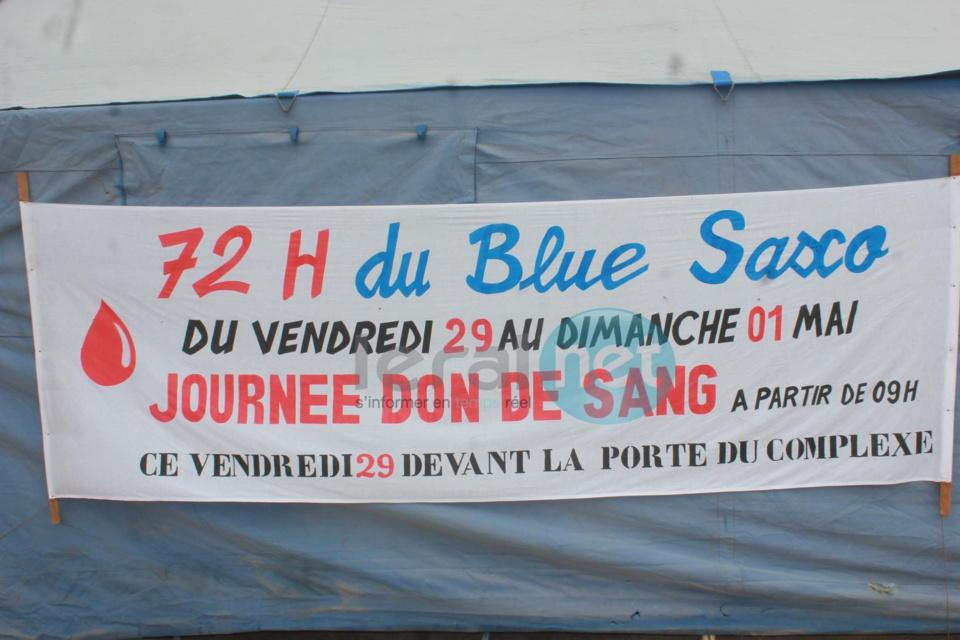 Les images de la journéée de don de sang du Blu Saxo