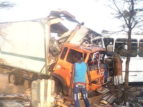 Grave accident sur la route nationale n°2 : Plus de 40 blessés ont été dénombrés dont 2 grièvement