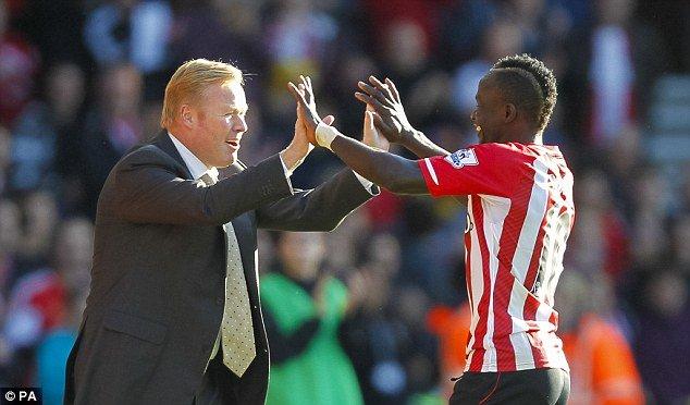 Ronald Koeman, coach de Southampton : « Sadio Mané est impressionnant »