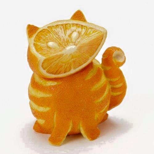 26 fruits transformés en oeuvres d'art... Découvrez les kiwis et les pommes comme vous ne les avez jamais vus !
