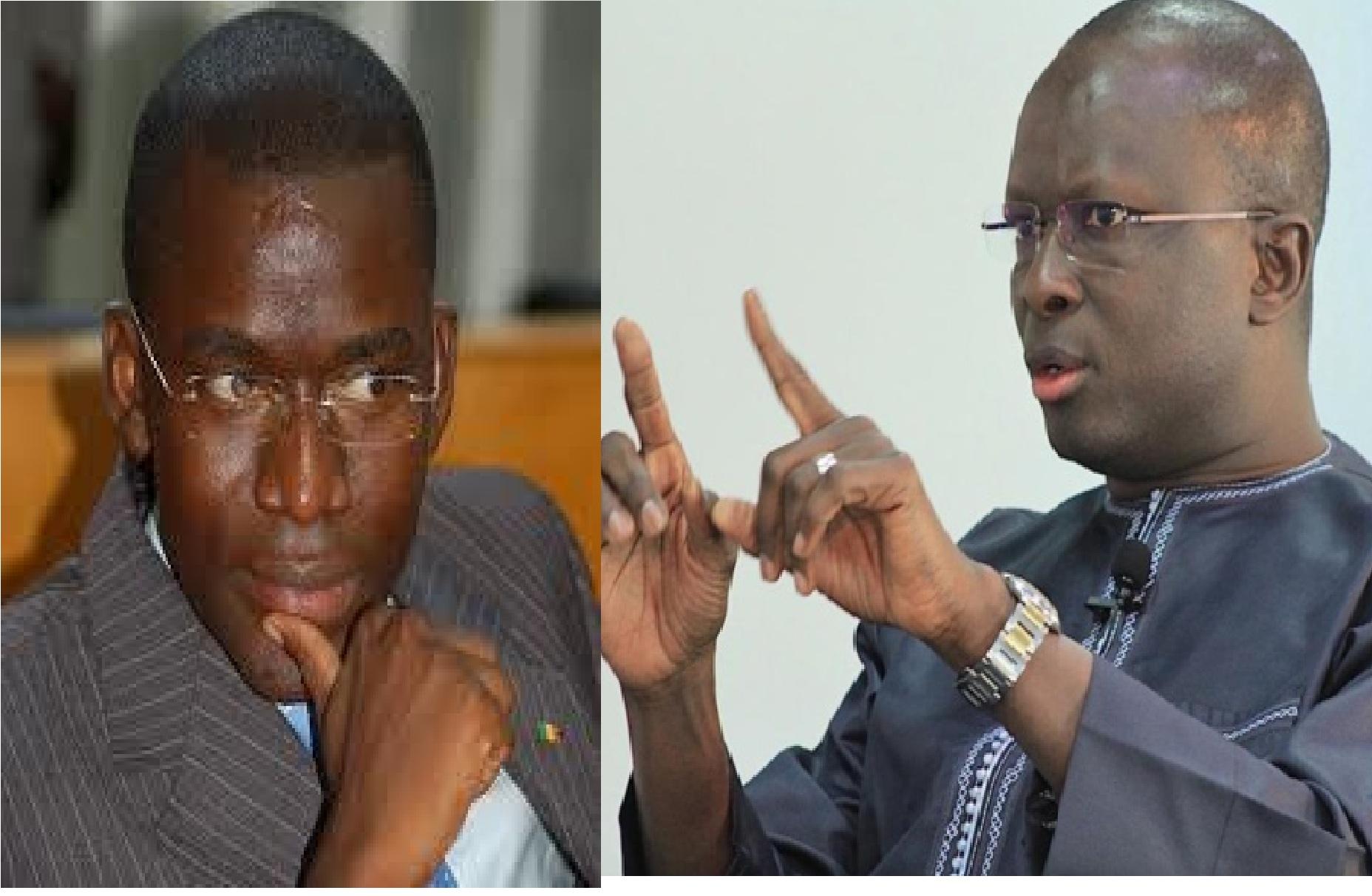 Assemblée nationale : Fada et Aliou Sow invités à céder leur poste pour des raisons d'éthique et de morale