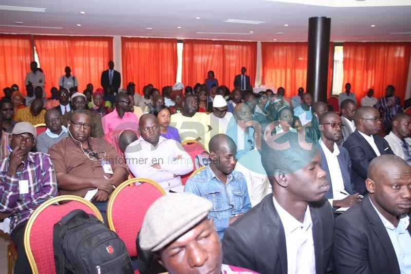"""Images-Lancement du parti de Abdoul Mbaye """"Act"""" : Notre parti sera différent des autres où il y a des politiciens professionnels"""""""