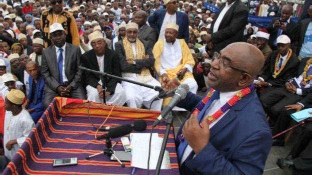 Comores : l'ex-putschiste Assoumani vainqueur de la Présidentielle