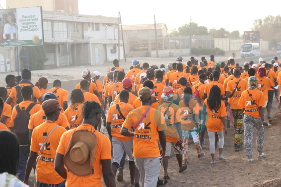Pèlerinage marial de Popenguine 2016 : Les pèlerins ont entamé la 36ème édition de la marche