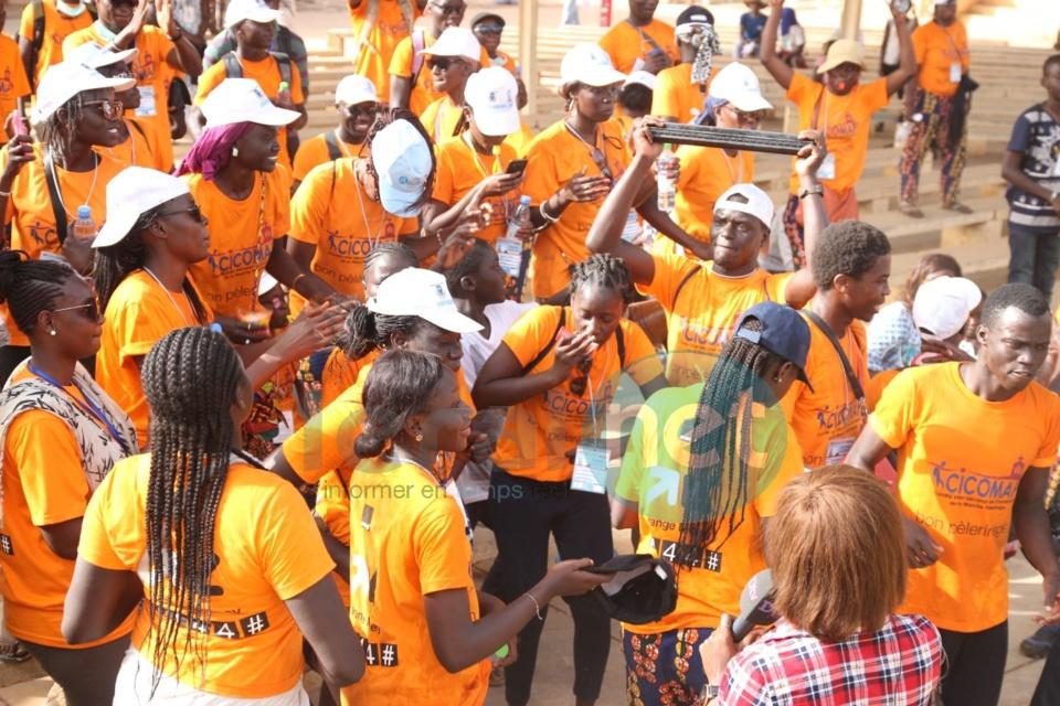 Les images de l'arrivée des marcheurs à Popenguine