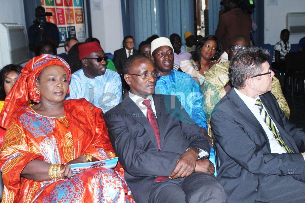En images la cérémonie de nomination de Coumba Gaolo Seck comme ambassadrice de bonne volonté de l'Onudc