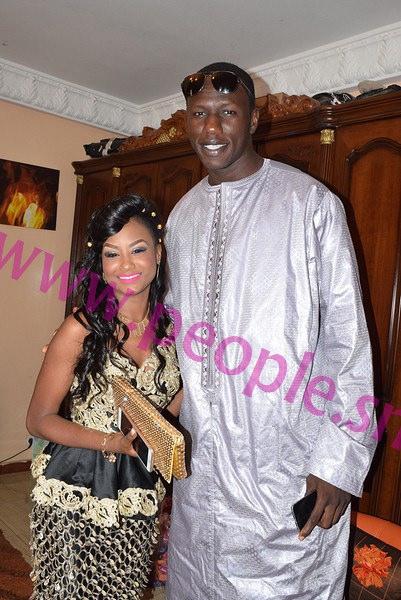 Les images du mariage de la  fille de Momar Ndao, de l'Ascosen, et du fils de Me Massokhna Kane