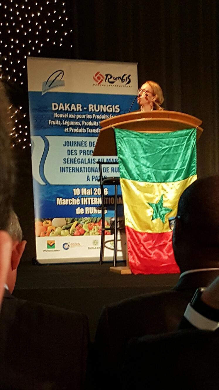 L'axe Dakar-Rungis  scellé par le port autonome de Dakar