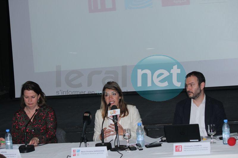 Marie-Christine Saragosse, de France Médias Monde : « Nous avons plus de 40 millions auditeurs par semaine, 13 millions de visites par mois sur le site Rfi.fr… »