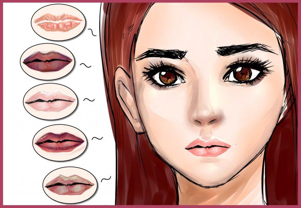 Ce que la couleur de vos lèvres révèle sur vous