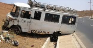 Urgent - Accident sur l'autoroute : 15 morts, une trentaine de blessés