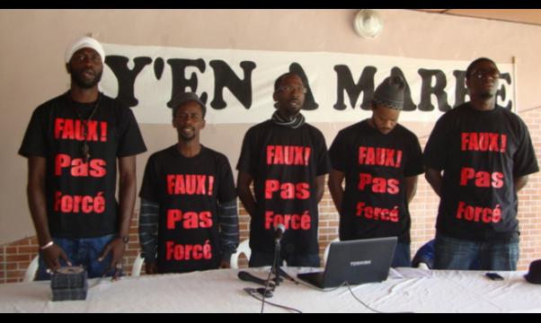 """Y'en A Marre attaque : """"ce que fait Macky Sall n'est pas sérieux"""""""