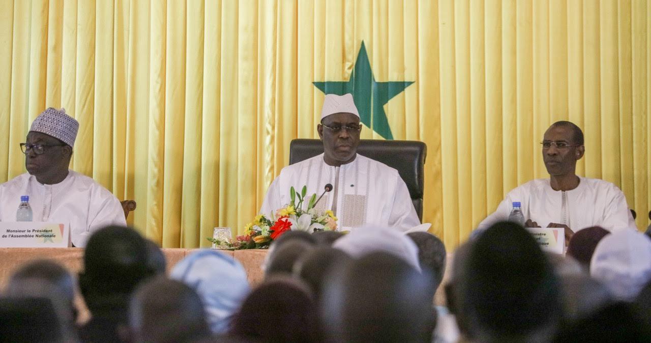 Macky Sall souhaite ''un consensus national durable' sur l'école