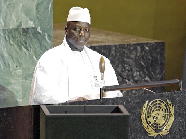 """Jammeh fier d'être un dictateur lance : """"L'Onu n'a qu'à aller en enfer..."""""""