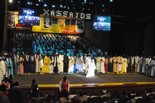 """3e édition des """"Xassaïd d'Or"""" au Grand Théâtre : Cheikh Ahmadou Bamba Bousso remporte le 1er prix et un million"""