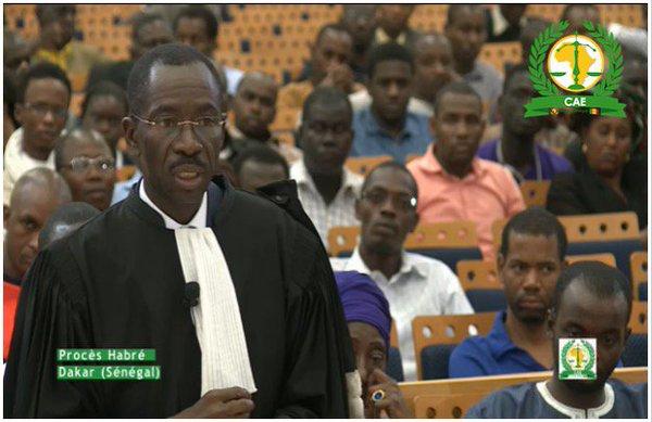 """Me Mbaye Sène, avocat d'Hissein Habré : """"Cette condamnation est  extrêmement sévère.."""""""