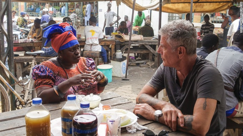 """Parts Unknown"" sur Cnn : Quand Anthony Bourdain tombe sous le charme du Sénégal"