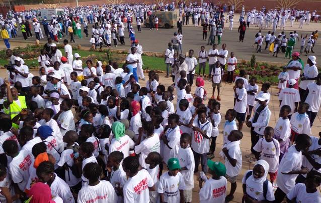 Santé des agents : Le ministère de l'Economie, des Finances et du Plan adopte la marche