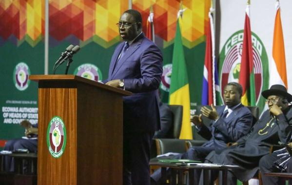 L'intégration, seule voie pour les pays de l'UEMOA de s'en sortir, estime Macky Sall