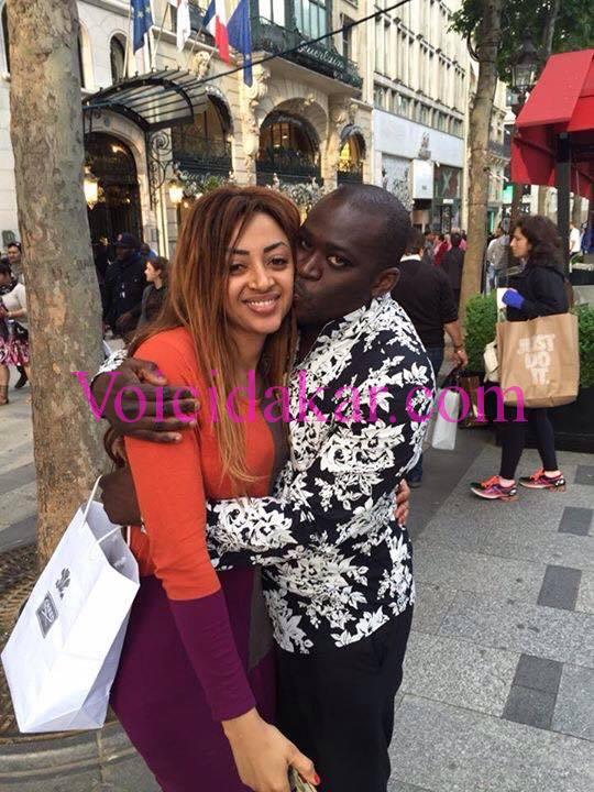 Lamine Nar en toute complicité avec sa belle-soeur Sokhna Aïdara