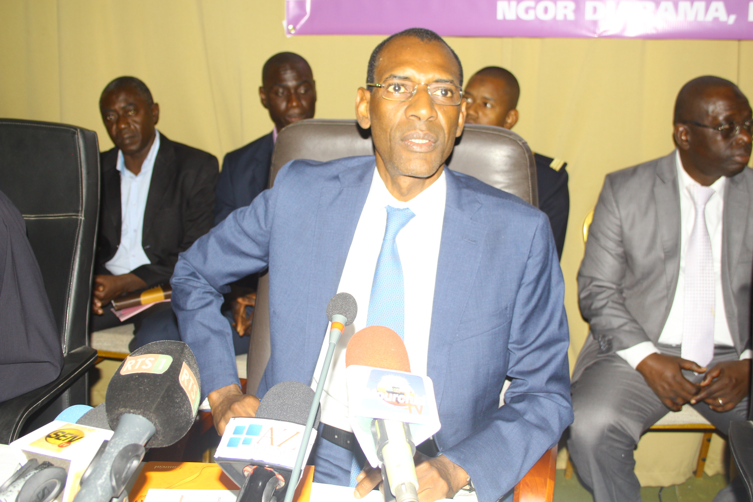 Abdoulaye Daouda Diallo: «Ce qui est important, c'est de travailler pour un code qui permettra d'aller aux élections dans de très bonnes conditions»