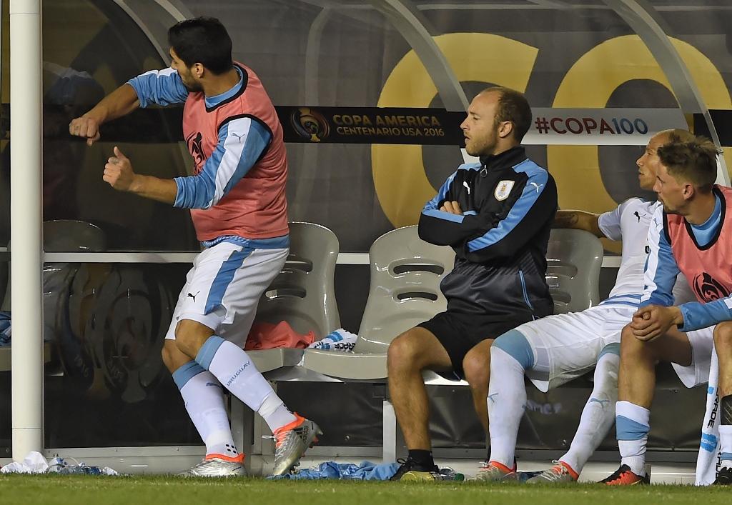 Copa America : Suarez excédé, l'Uruguay éliminé