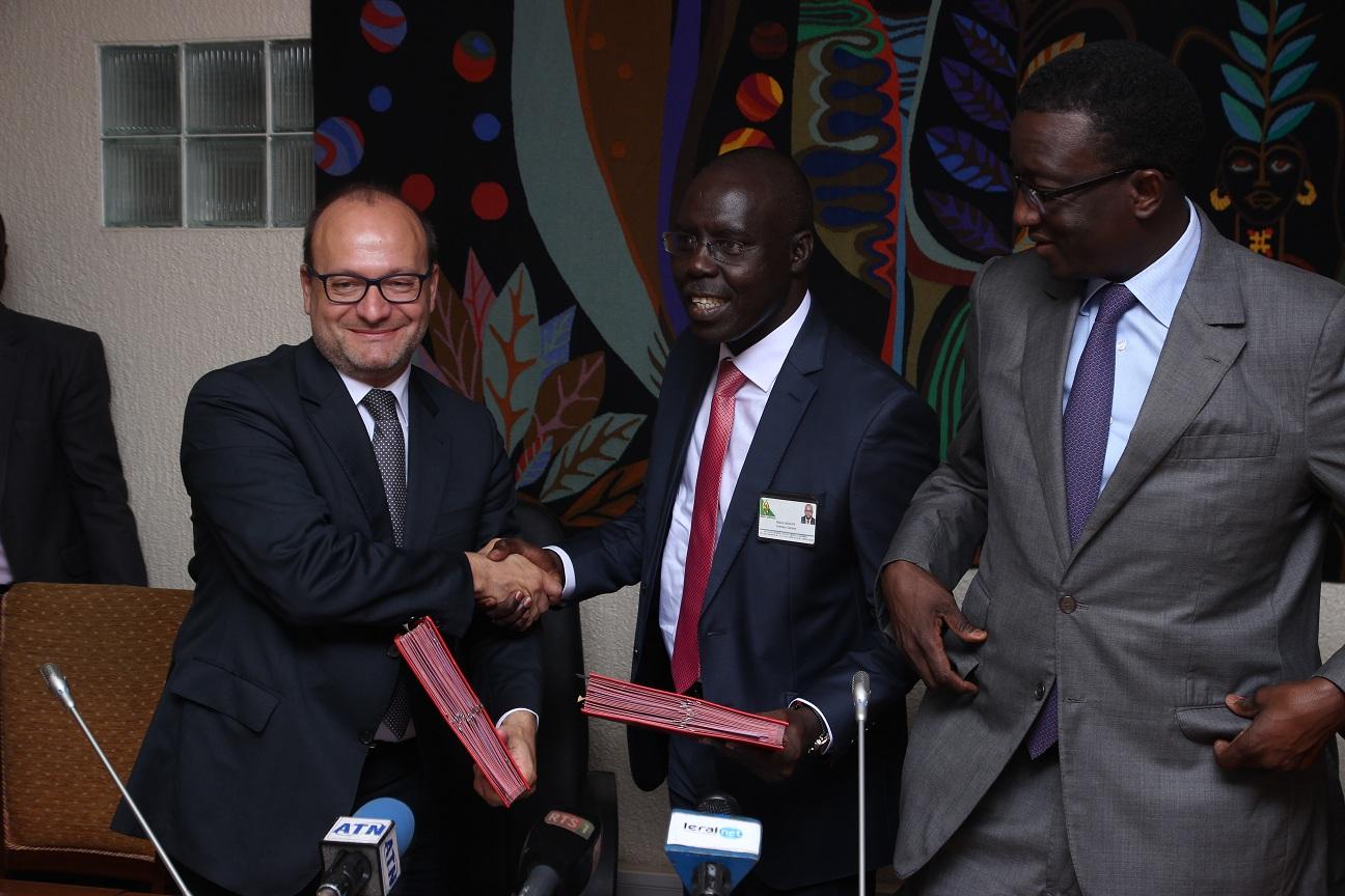 La cérémonie de signature de convention entre l'Afd et l'Etat du Sénégal en images