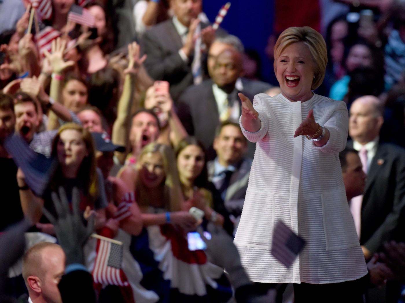 Hillary Clinton remporte la dernière primaire démocrate à Washington