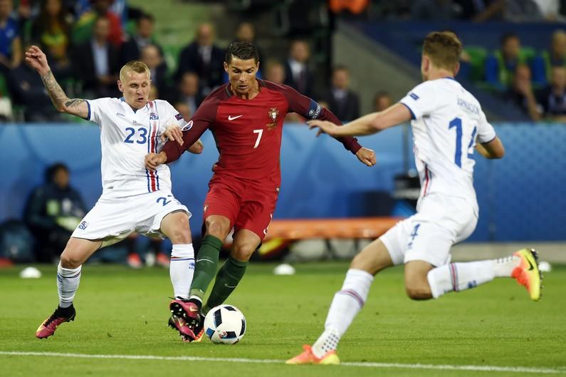 """Cristiano Ronaldo : """"L'Islande a mis un but devant le but"""""""