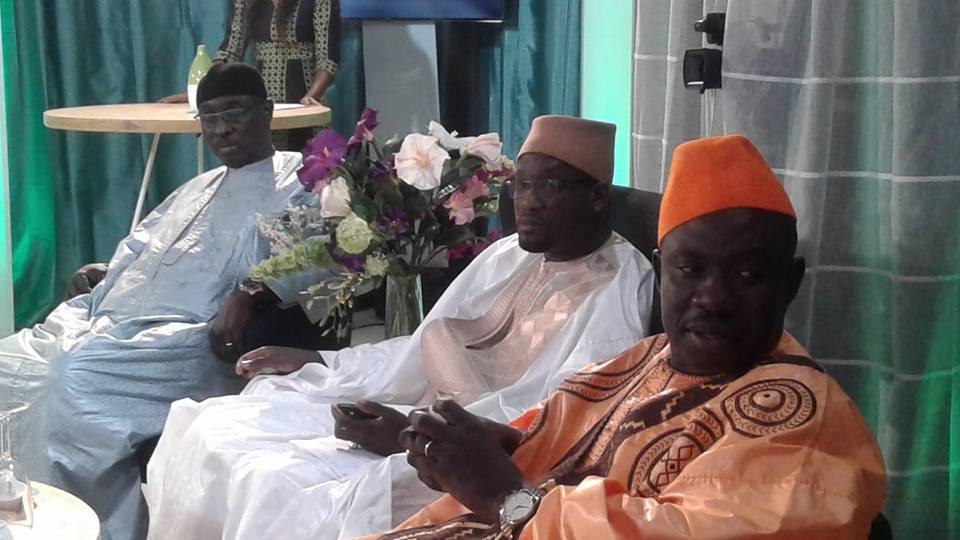 Pape Cheikh Diallo et toute l'équipe de QG