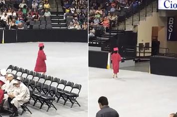 Les gens adorent cette fille qui a quitté sa cérémonie de remise de diplômes