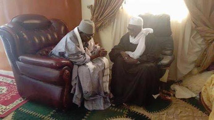 Touba : Al Amine a présenté les condoléances de la Hadara Tidjaniyya à Serigne Cheikh Sidy Mokhtar Mbacké