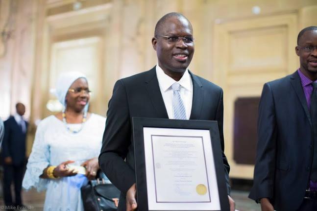 Distinction : Khalifa Sall élu citoyen d'honneur de Montréal